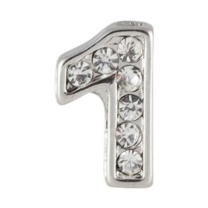 Picture of Silver Number One Charm